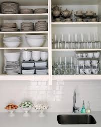 Kitchen Shelves Vs Cabinets How To Organize Kitchen Appliances