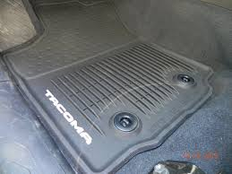 toyota tacoma floor mat what you done to your 3rd today tacoma