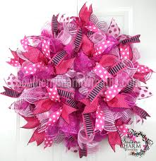 how to add ribbon to deco mesh wreaths mesh wreaths deco mesh