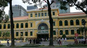 ho chi minh city vietnam 5 december 2015 facade of the french