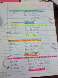 math u003d love algebra 2 unit 4 inb pages sequences and series