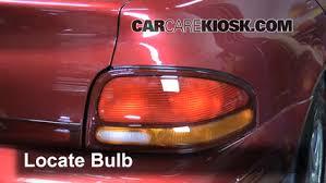 2005 dodge stratus brake light bulb brake light change 1995 2000 dodge stratus 1996 dodge stratus es