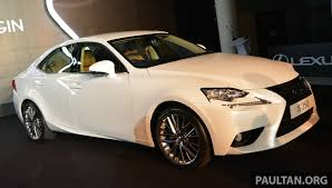 lexus 7 seater malaysia this week in car launches
