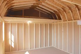 Pine Creek 12x24 Dutch Garage by 12x16 Gambrel Dutch Barn Lofts Inside Pine Creek Structures