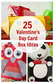 kid valentines 25 s day card box ideas for kids plaid online