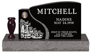 Flat Headstones With Vase Headstone Prices The Headstone Journal