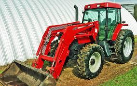 case ih mx135 tractor mfwd cha l650 self leveling loader w 7â