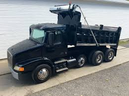 volvo trucks for sale 2003 volvo 379 triaxle dump truck for sale