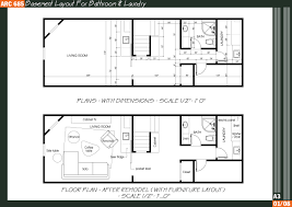 basement bathroom layout and free basement house plans with diy