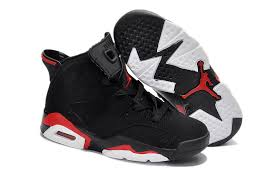 kid jordans discount nike air 6 shoes kid s black high