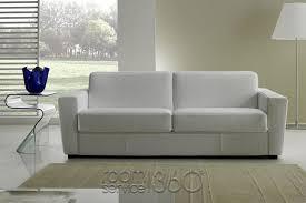White Leather Sleeper Sofa Capri Italian Leather Sleeper Sofa By Gamma Arredamenti