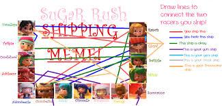 Threesome Memes - sugar rush shipping meme please read description by pokemon alyssa