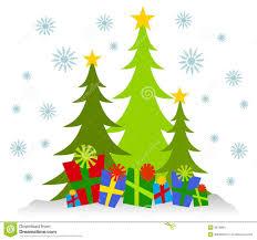 christmas tree and presents clipart u2013 101 clip art