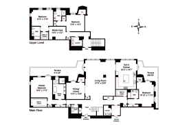 new york apartment floor plans two sophisticated luxury apartments in ny includes floor plans