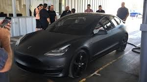 tesla model 3 matte black model 3 teslamotors