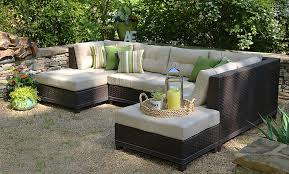 Patio Chairs With Cushions Amazon Com Ae Outdoor 4 Piece All Weather Hillborough Sectional