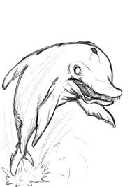 daily sketch zombie dolphin by powerofsin on deviantart