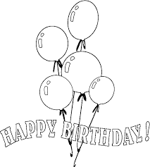 balloon coloring pages 2 gif 600 669 pixels 2nd birthday ideas