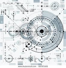 digital drawing website architectural blueprint vector digital background different stock
