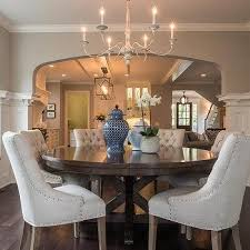 round mahogany dining table round wood solid dining table design ideas
