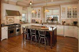 ceramic tile backsplash minimalist kitchen island white storage