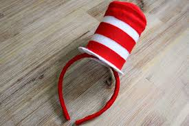 Cat In The Hat Costume Diy Cat In The Hat Costume Mini Top Hat Party Delights Blog