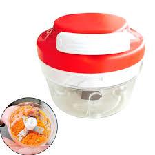 good quality useful high speedy chopper garlic cutter vegetable