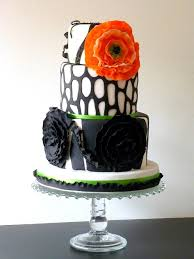 785 best black and white wedding cakes images on pinterest