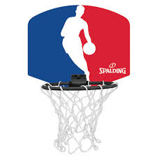 spalding nba logoman mini basketball backboard rebel