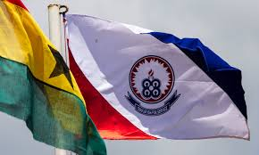 University Flags File Uew Flag And Ghana National Flag Jpg Wikimedia Commons