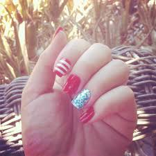 red white n blue nail design red white and blue manicures nail