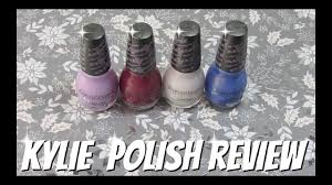dollar tree haul kylie sinful colors nail polish review with