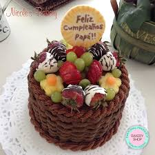 cake basket cake design by nicole u0027s bakery