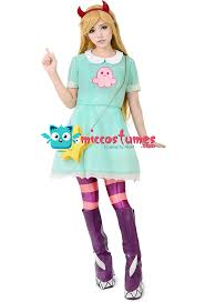 Mabel Pines Halloween Costume Star Forces Evil Cosplay Cartoon Character Cosplay