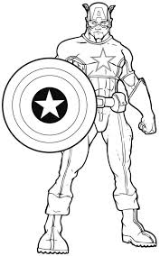 coloring pages attractive superheroes colour coloring pages