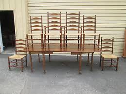 58362 solid cherry pennsylvania house dining table w 6 chairs ebay