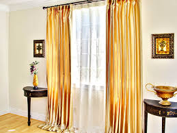 White Gold Curtains White And Gold Striped Curtains Home Decoration Ideas
