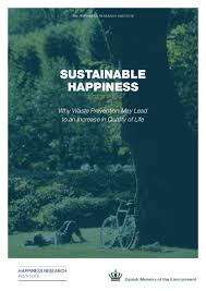 sustainable happiness connecting waste and wellbeing report from th u2026
