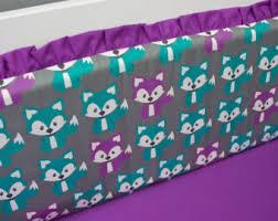 Teal And Purple Crib Bedding Deer Crib Bedding Woodland Nursery Bedding Baby Crib Set Boy