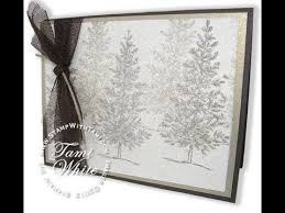 dazzling dryer sheet holiday sparkle card featuring stampin u0027 up