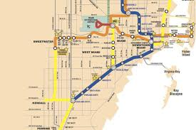 Metro Rail Dc Map by Where Oh Where Is The Metrorail Miami Was Promised Curbed Miami