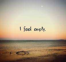 feeling empty quote quote number 664744 picture quotes