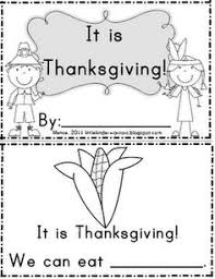 thanksgiving printable book for preschoolers festival collections