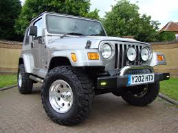 used 2001 jeep wrangler 4 0 60th anniversary lpg for sale in luton