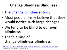 Change Blindness Youtube What Numbers Don T Tell You Correctly