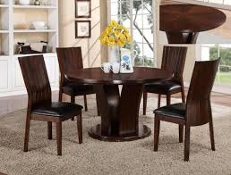 Round Espresso Dining Table Espresso Round Dining Set