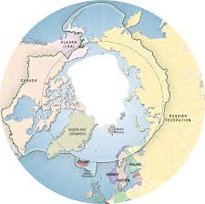 Map Of Russia And Alaska by Arctic Atlas Arctic Maps Arctic Region Maps Arctic Zone Maps