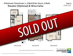 townhome plans deluxe townhome plans yorkson creek