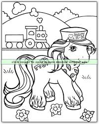 19 pony coloring pages images