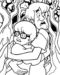 scooby doo colouring pages 29 print color free